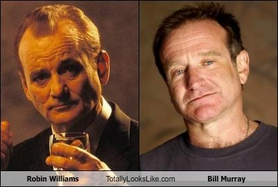 Bill Murray and Robin William